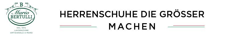 HERRENSCHUHE DIE GRÖSSER MACHEN